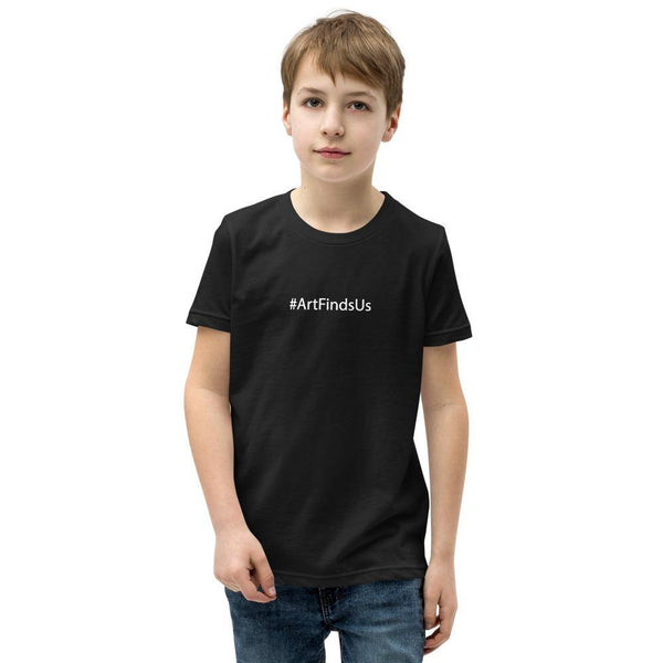 #ArtFindsUs Youth Tee
