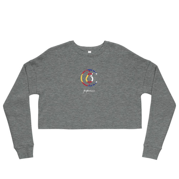 CO6 Fleece Womens Crop Sweatshirt