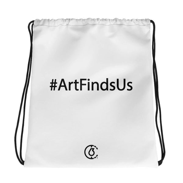 #ArtFindsUs Drawstring Bag