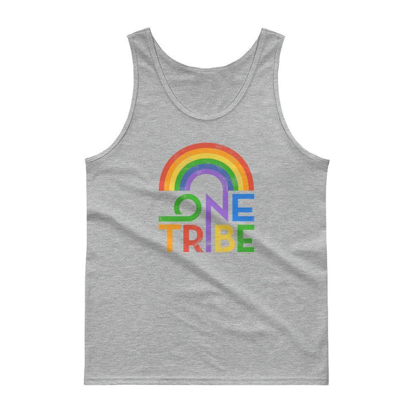 One Tribe Rainbow Unisex Tank Top - The 6th Clothing Co.