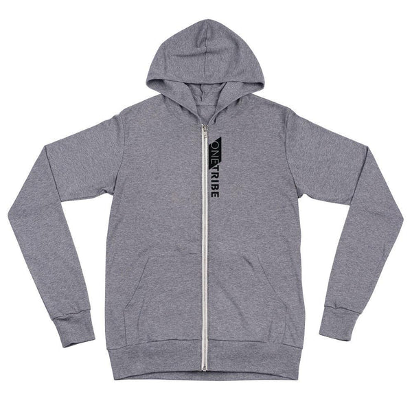 One Tribe Unisex Lightweight Zip Hoodie - The 6th Clothing Co.
