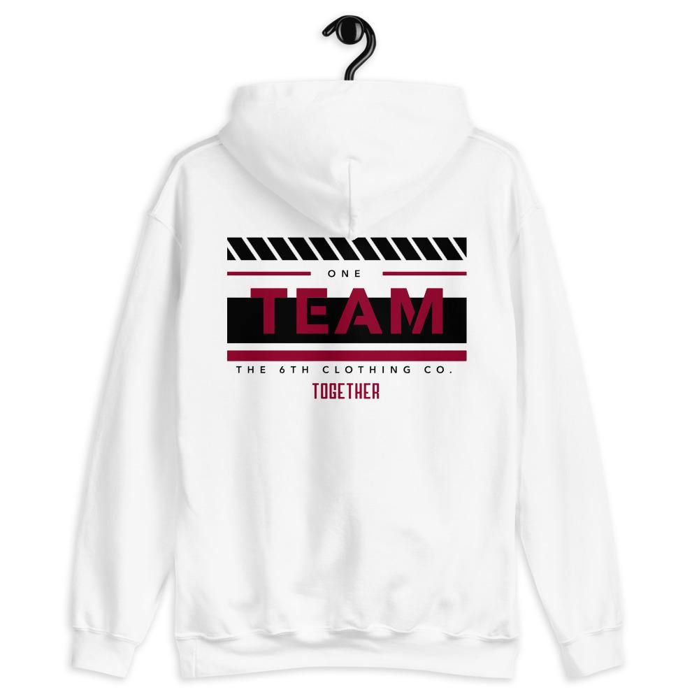 6th TEAM Sponsored Unisex Hoodie - The 6th Clothing Co.
