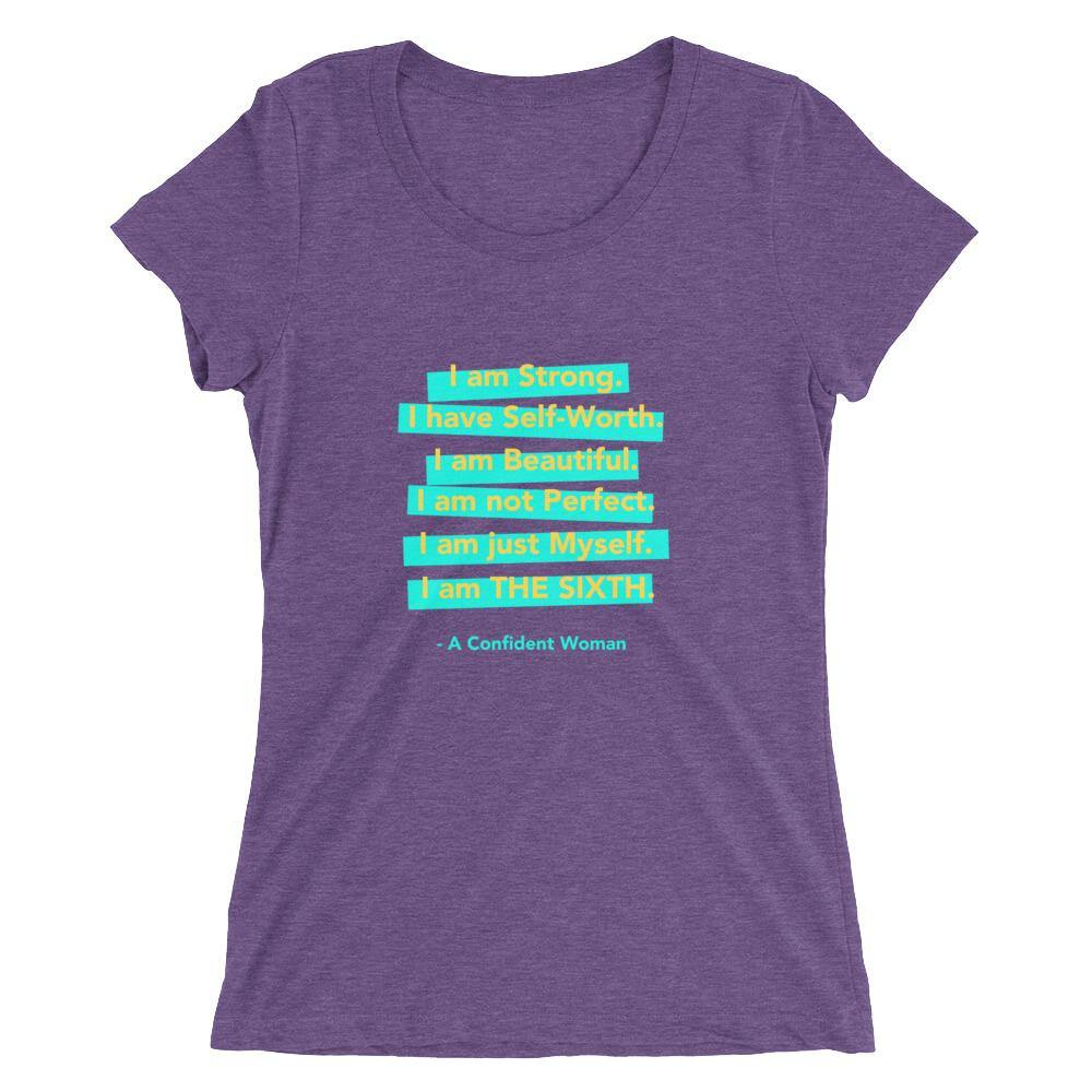 Confident Woman Short Sleeve Tee - The 6th Clothing Co.