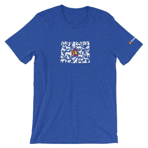 PawsCo Colorado State Rescue Animals Unisex T-Shirt
