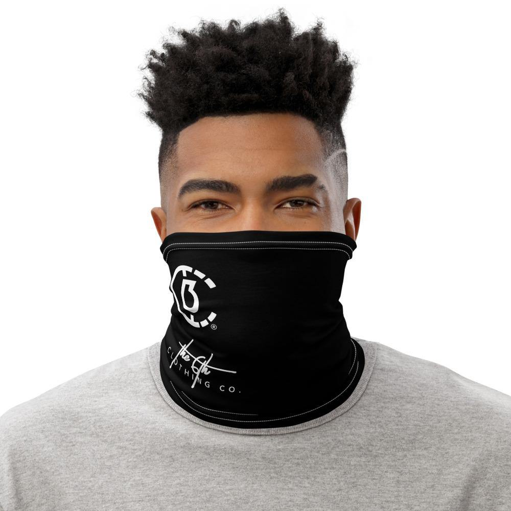The 6th Unisex Neck Gaiter (Black) - The 6th Clothing Co.