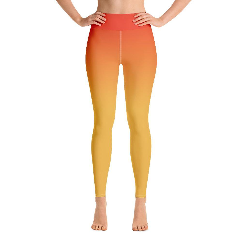 The 6th Sunrise Yoga Leggings - The 6th Clothing Co.