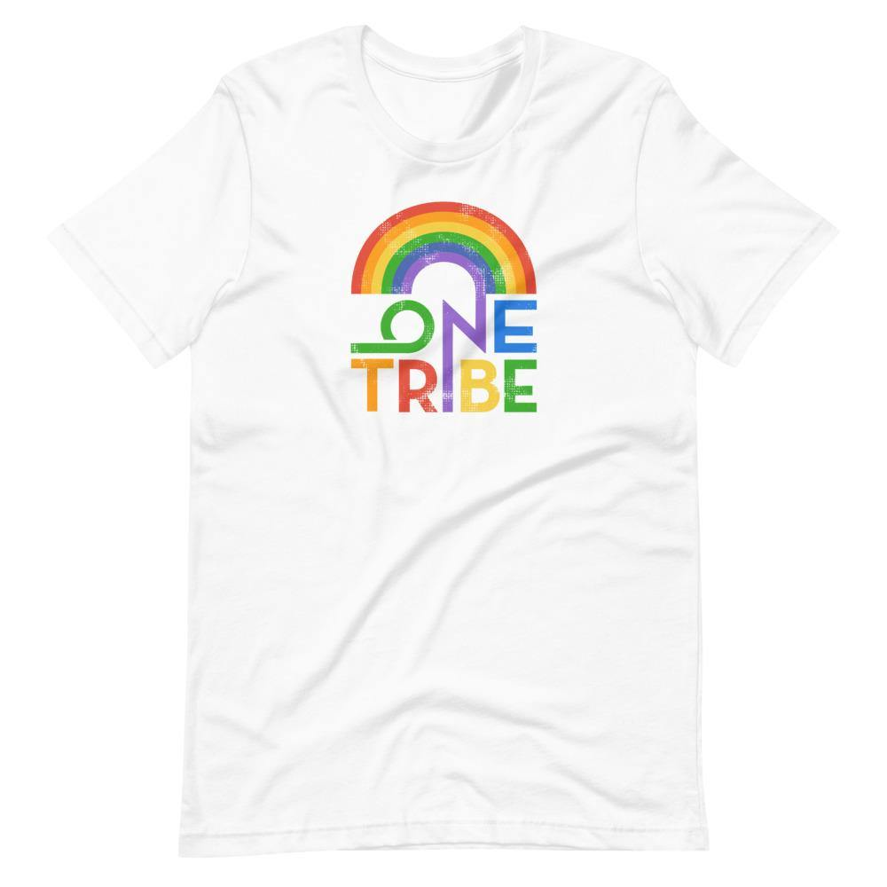 One Tribe Rainbow Unisex Tee - The 6th Clothing Co.