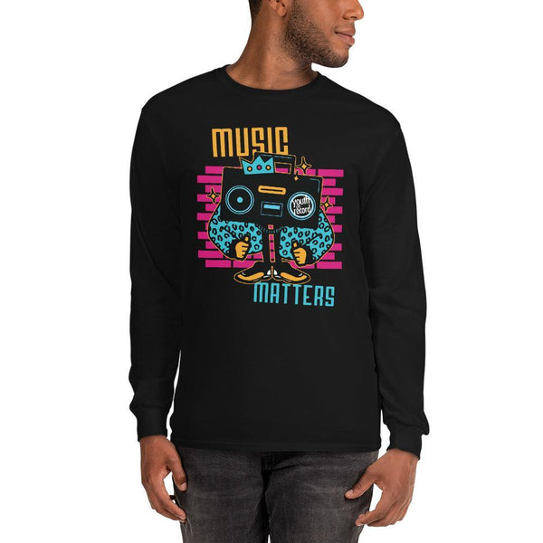 Youth on Record 2020 Music Matters Unisex Long Sleeve Tee