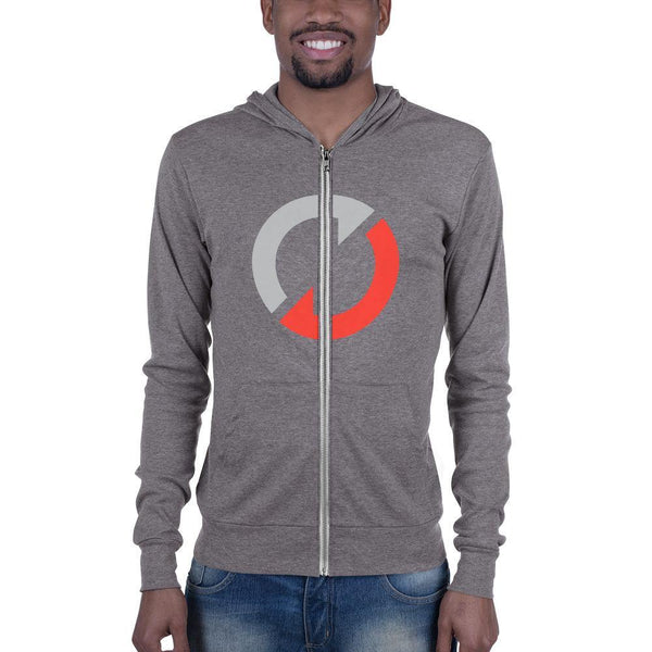 Respect Team Unisex Zip Hoodie - The 6th Clothing Co.
