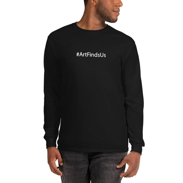 #ArtFindsUs Unisex Long Sleeve Shirt