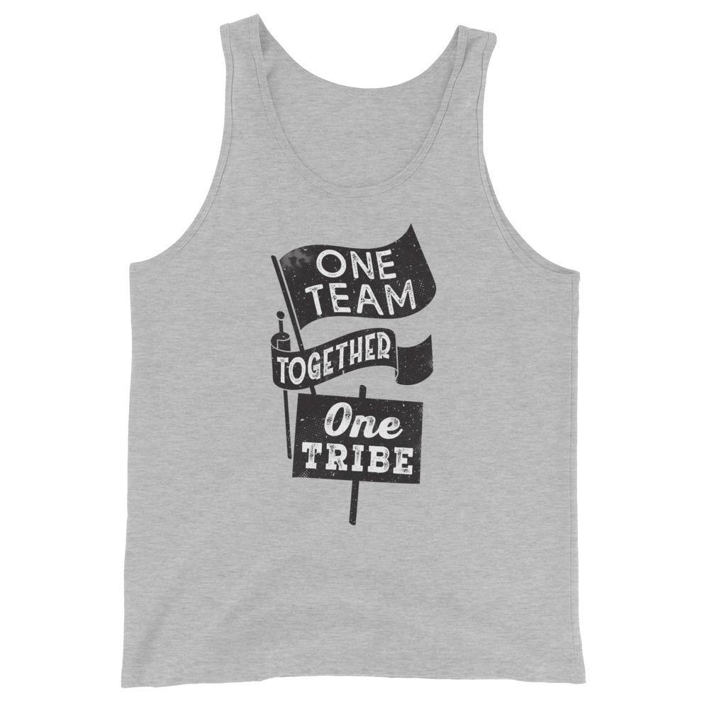 One Team Together One Tribe Unisex Tank Top - The 6th Clothing Co.