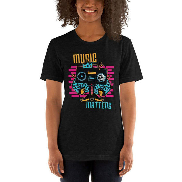 Youth on Record 2020 Music Matters Short-Sleeve Unisex Tee