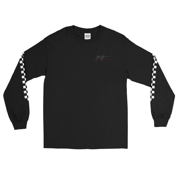 6th Signed Checkerboard Long Sleeve T-Shirt