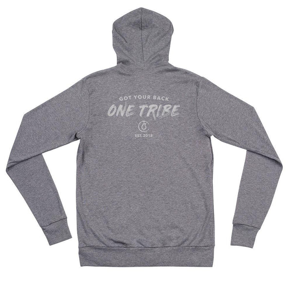 One Tribe Unisex Lightweight Zip Hoodie