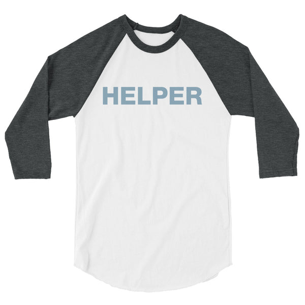 A Little Help Baseball Tee