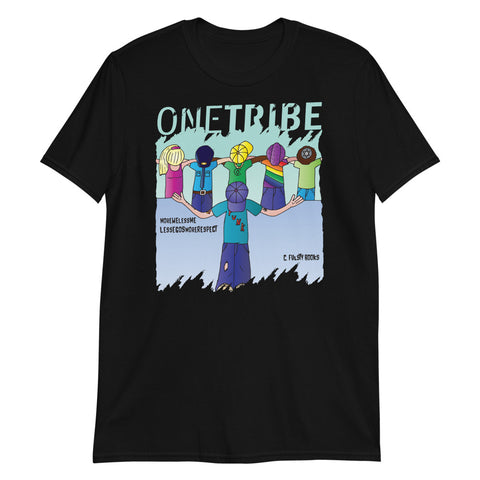 C Fulsty Books One Tribe Unisex Tee
