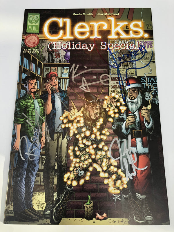 Clerks Holiday Special Comic (Signed by Kevin Smith, Jason Mewes, Jeff Anderson, and Brian O'Halloran)