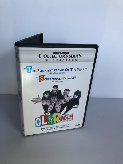 Clerks DVD (Signed by Kevin Smith, Jason Mewes, Jeff Anderson, Brian O'Halloran, Marilyn Ghigliotti)