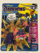 Darkwing Duck Figure Signed by Jim Cummings