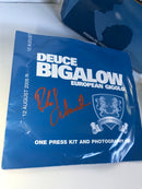 Deuce Bigelow Press Kit Signed by Rob Schneider