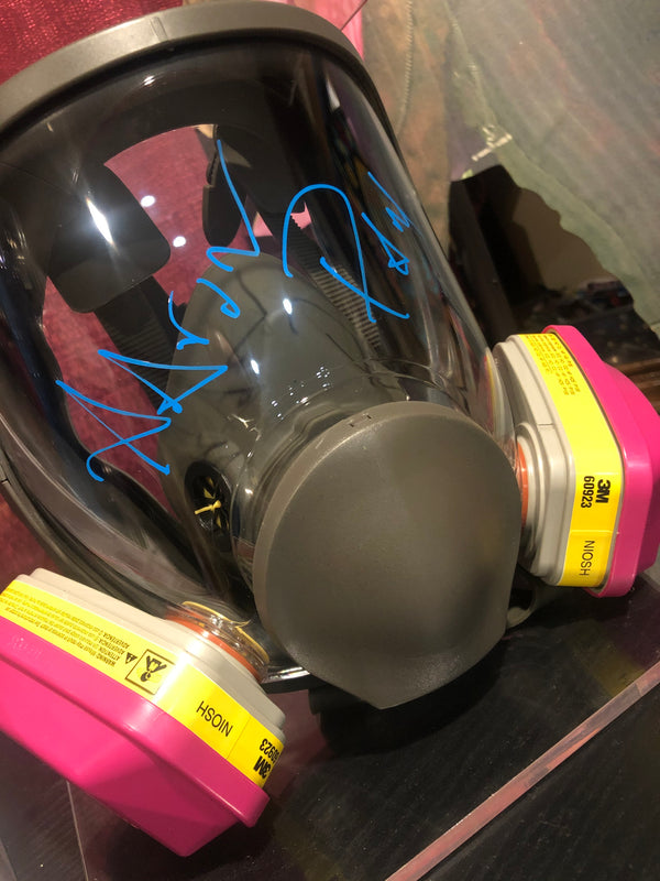 AARON PAUL - Signed Gas Mask