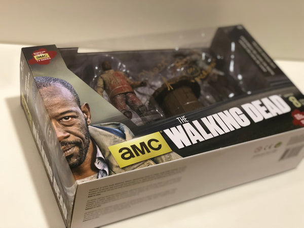 "Walking Dead ""Morgan"" Figure Set (Signed by Lennie James)"
