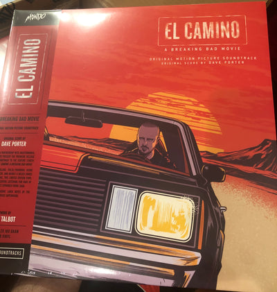 Mondo El Camino Vinyl Signed by Aaron Paul