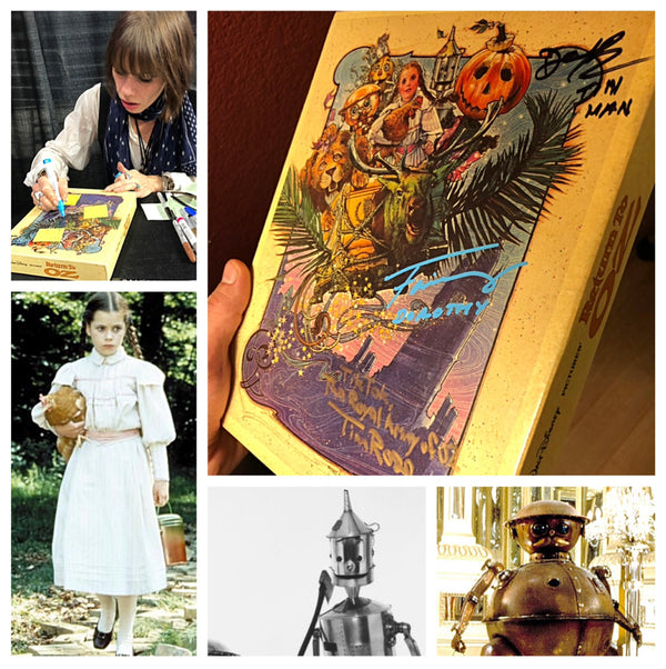 Return to Oz Puzzle Signed by 3: Fairuza Balk, Deep Roy and Tim Rose