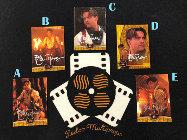 BRENDAN FRASER - The Mummy Trading Cards