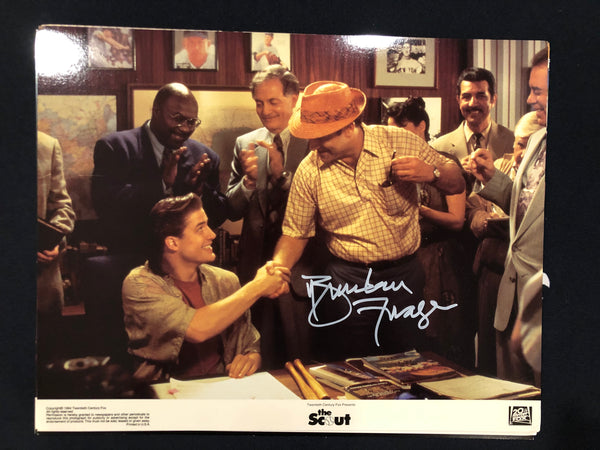 "BRENDAN FRASER - The Scout Original Lobby Card ""Contract Signing"""