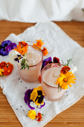 Lavender Nutmilk Punch