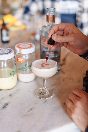 Nut Milk Cocktails with 1821 Bitters & Old 4th Distillery