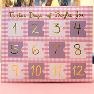 Twelve Days of Baylee Jae Advent Calendar - A Grade