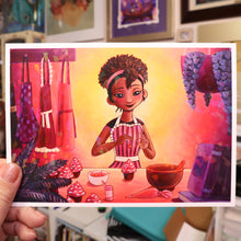 "Load image into Gallery viewer, ""Bakery"" Holo Print (Signed) [PRE-ORDER]"