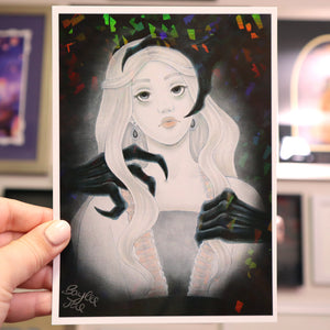 """Beautiful Nightmare"" Holo Print (Signed) [PRE-ORDER]"