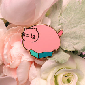 """Bebe in a Box"" Enamel Pin"