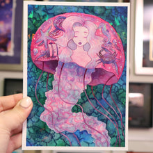 "Load image into Gallery viewer, ""Jelly Dreams"" Holo Print (Signed) [PRE-ORDER]"