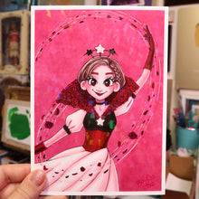 "Load image into Gallery viewer, ""Petal Dance"" Holo Print (Signed) [PRE-ORDER]"