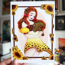 "Load image into Gallery viewer, ""Sunflower"" Holo Print (Signed) [PRE-ORDER]"