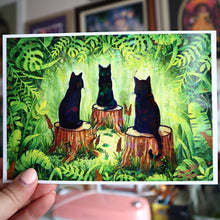 "Load image into Gallery viewer, ""The Meeting"" Holo Print (Signed) [PRE-ORDER]"