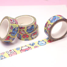 "Load image into Gallery viewer, ""Mail Cat"" Washi Tape [PRE-ORDER]"