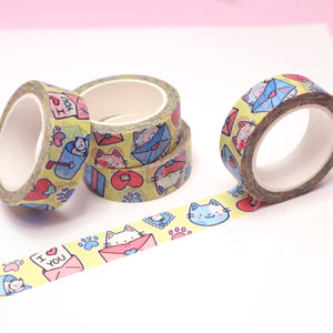 """Mail Cat"" Washi Tape [PRE-ORDER]"