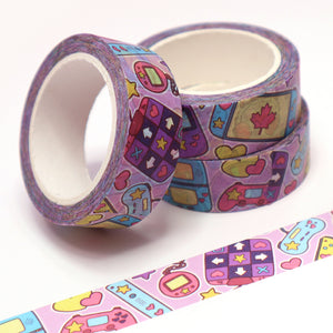 """Video Game"" Washi Tape"