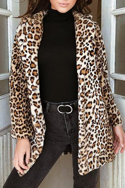 long-sleeve-wide-collar-knee-length-glamorous-animal-print-coat