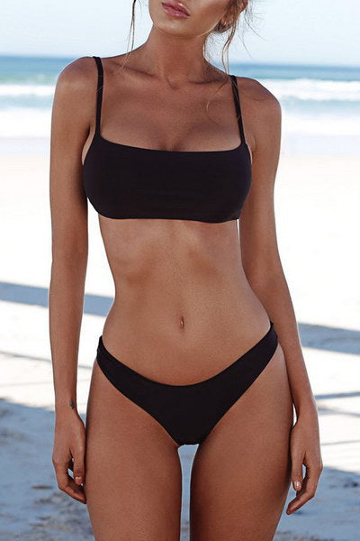 Low Rise Bikini Swimsuit