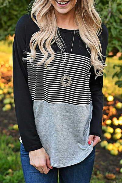long-sleeve-tee-crew-neck-casual-color-block-striped-t-shirt-top