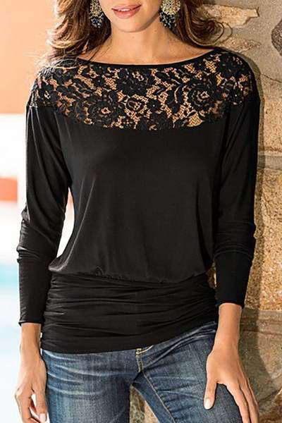 long-sleeve-round-neck-long-pretty-floral-embroidery-lace-t-shirt