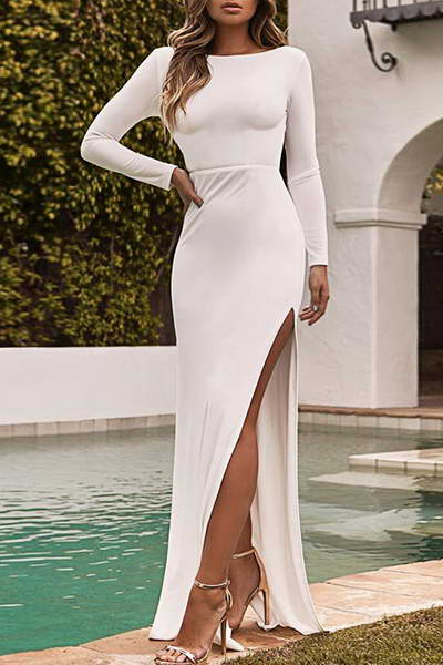 long-sleeve-boat-neck-floor-length-cocktail-dress-thigh-high-slit-gown