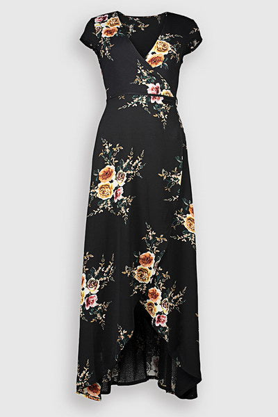 Irregular Flower Dress