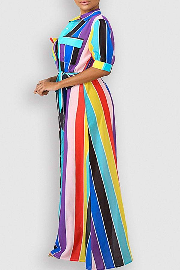 Colorful Maxi Dress